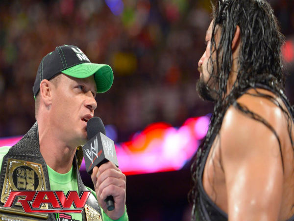 John Cena and Roman Reigns (Image courtesy: Youtube)