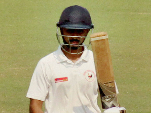Irani Cup: Chirag Gandhi slams maiden ton to rescue Gujarat after early jolts by Rest of India