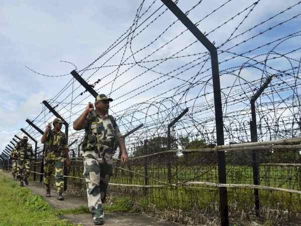 Border Security Force personnel patrolling along the border. Photograph for representation only.
