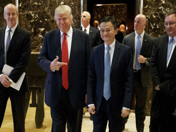 Alibaba's founder meets Trump, plans to help American small business