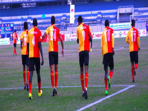 East Bengal players celebrate (Image courtesy: I-League Twitter handle)