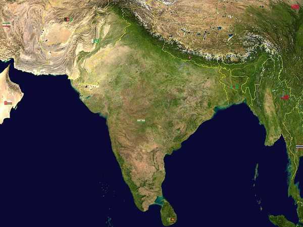 India was not isolated before colliding with Eurasia: study