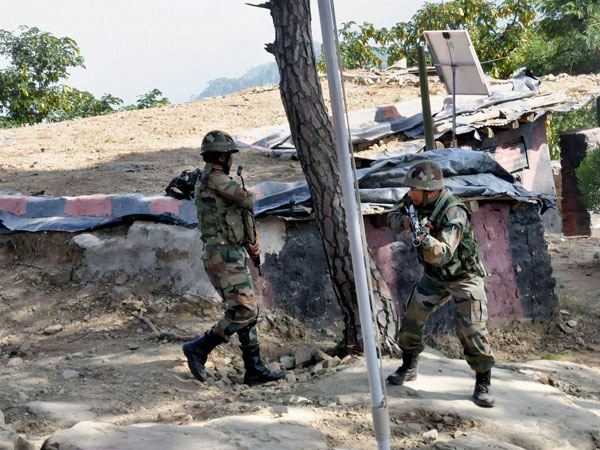 Akhnoor terror attack: A damaged gate at the GREF camp that was unmanned for a week