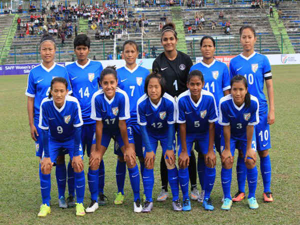 Indian Women's football team (Image courtesy: Indian Football Team Twitter handle)