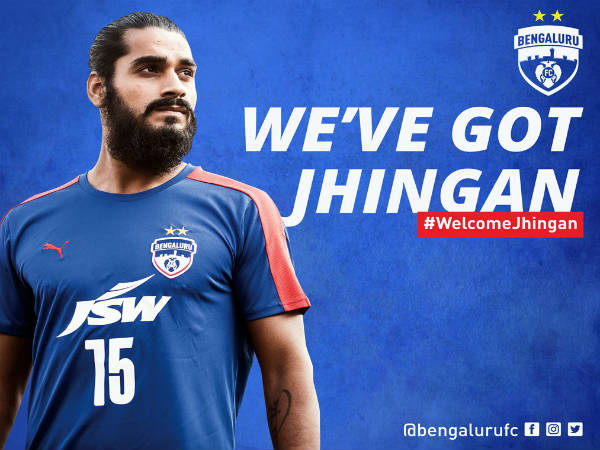 Sandesh Jhingan (Image courtesy: Bengaluru FC Twitter handle)