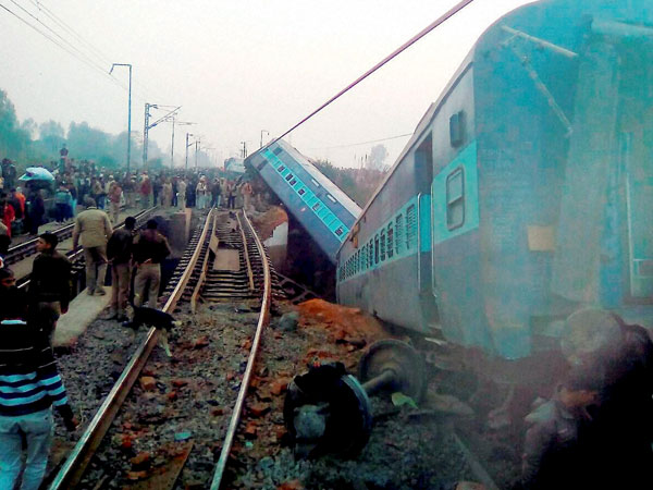 File image of Kanpur train accident.