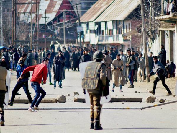 File photo of Kashmir unrest
