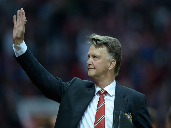 Louis van Gaal (Image courtesy: Manchester United Twitter handle)