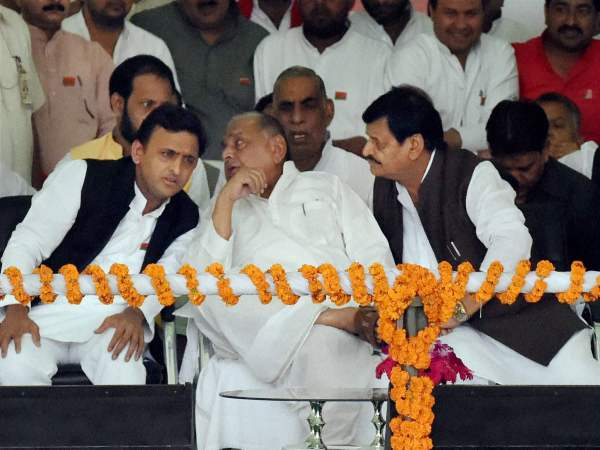Mulayam, Akhilesh's bicycle diaries