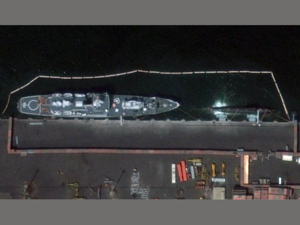 Chinese nuclear submarine spotted at Karachi