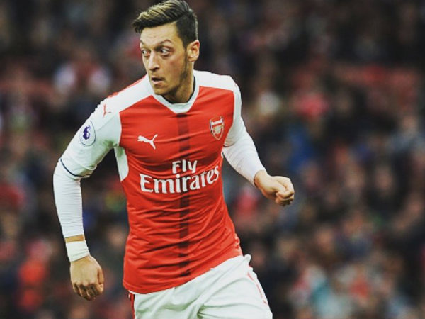 Mesut Ozil (Image courtesy: Arsenal Twitter handle)