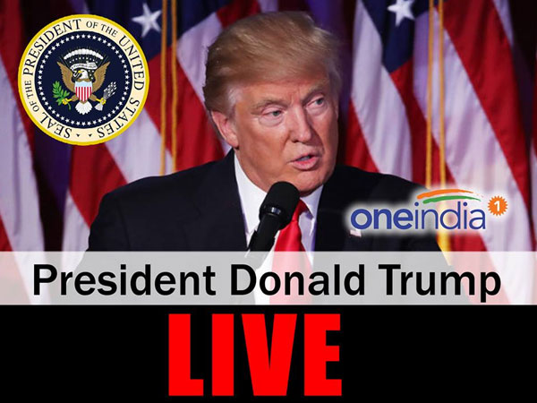 Live: Trump is 45th US President