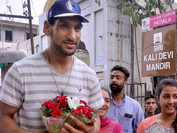 File photo: First Indian basketball player to play in NBA, Satnam Singh Bhamara