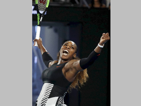 Serena Williams at Australian Open 2017