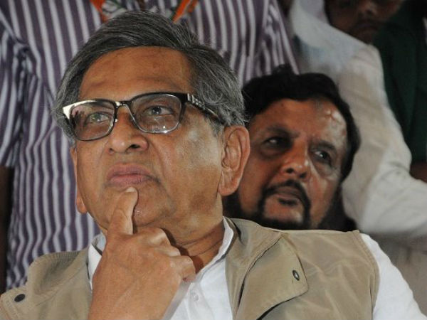 S M Krishna met BJP's Amit Shah before quitting Congress