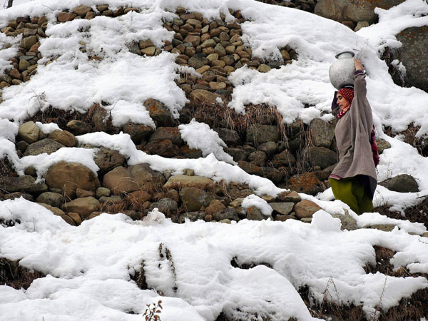 J-K: Temperatures below freezing point