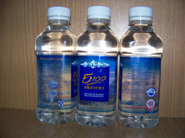 Tibet's bottled water output to surpass one million tonnes