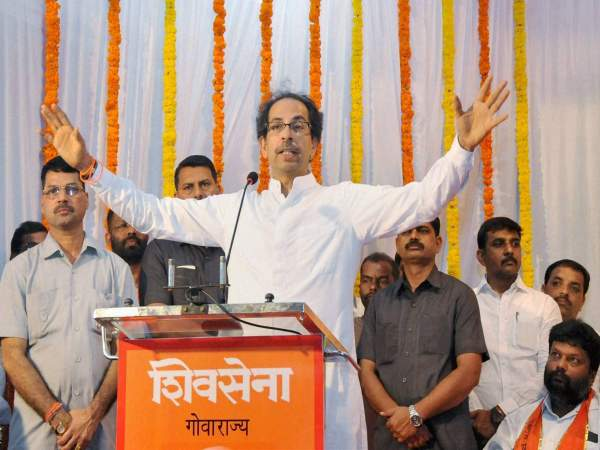 Shiv Sena leaves political rivals behind, gets 4 times the donations