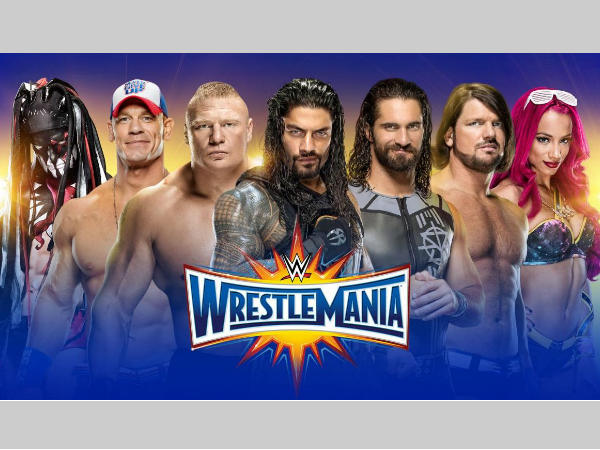 The Wrestlemania 33 poster (image courtesy Twitter)