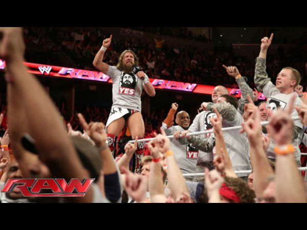 The infamous moment when Raw was occupied by the fans (image courtesy Youtube)