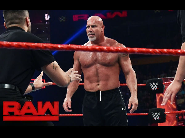 Goldberg to main event this year's Wrestlemania (image courtesy WWE)