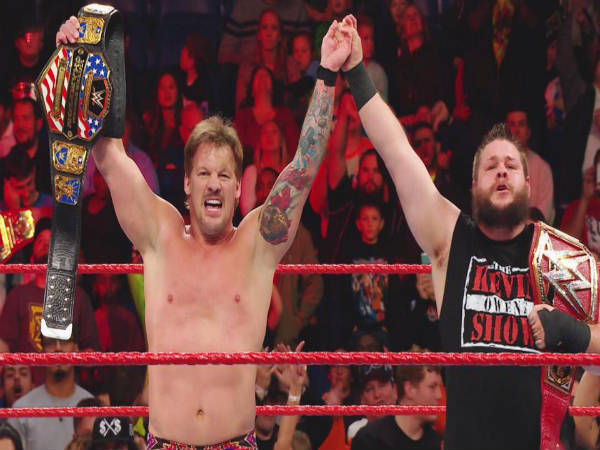 Jericho became the new US champion (image courtesy WWE.com)