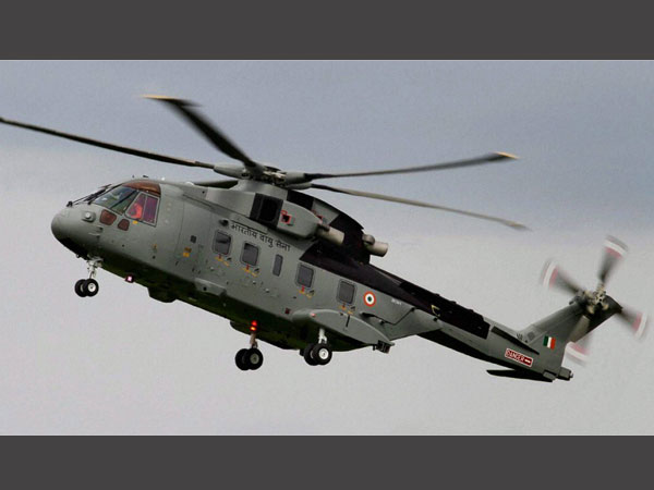 A file photo of AgustaWestland (AW101) VVIP Airforce Helicopter. PTI file photo