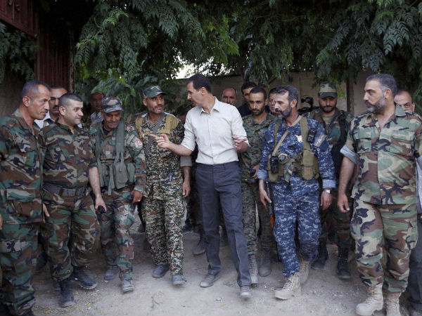 Assad wants to negotiate with Syrian rebels