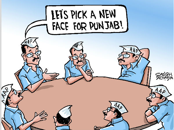 CARTOON: AAP equals Arvind Kejriwal