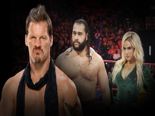 From left: Chris Jericho, Rusev and Lana (Image courtesy: Youtube)