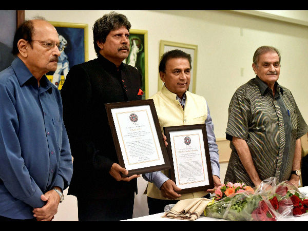 Image result for KapilDev inducted into Legends Club Hall of Fame  1.Cricket icon KapilDev was inducted into Legends Club 'Hall of Fame' in presence of former