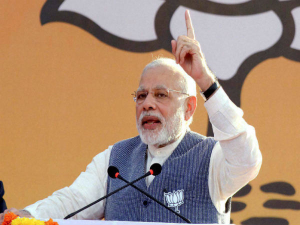 PM Modi takes a dig at Cong-SP alliance