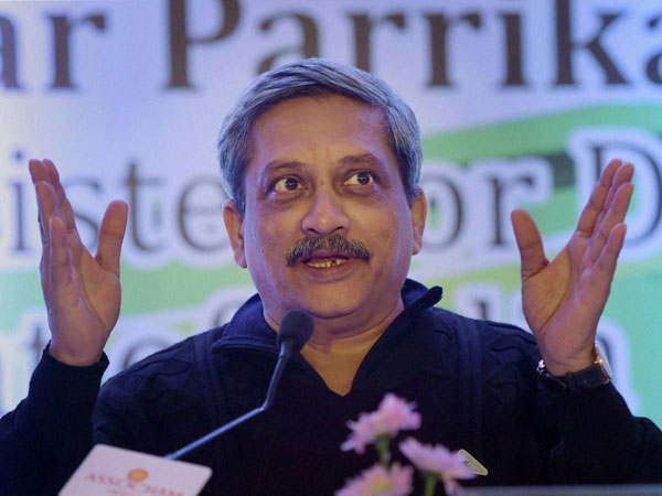 Union defence minister and former Goa chief minister Manohar Parrikar