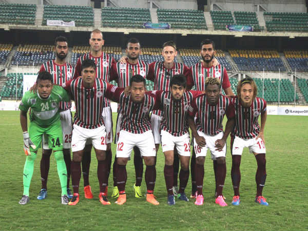 Mohun Bagan players (Image courtesy: Mohun Bagan Twitter handle)