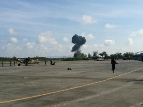Pilot killed as Thai fighter jet crashes at air show