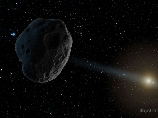Is doomsday asteroid headed for Earth?