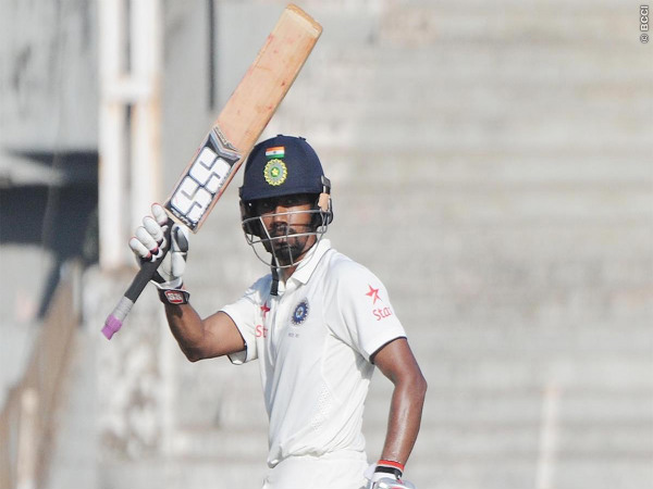 Wriddhiman Saha (Image courtesy: BCCI Domestic Twitter handle)