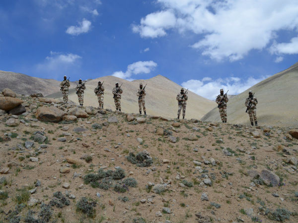 ITBP troops deployed in border: