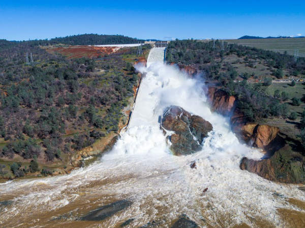 Oroville Dam is fine