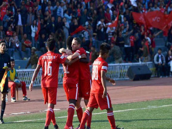 Aizawl FC 3-1 Churchill Brothers