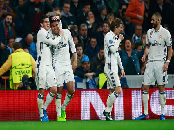 Casemiro Unleashes Wonder Strike To Help Real Madrid Put Away Napoli