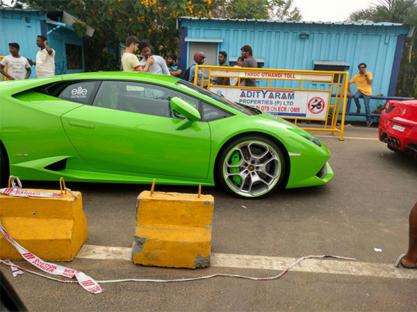 Hot Wheels Chennai Police Seize Super Cars For Illegal Racing