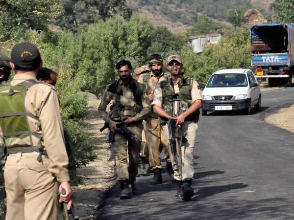 Jawans and the police during an operation in Jammu and Kashmir. Photo for representation only.