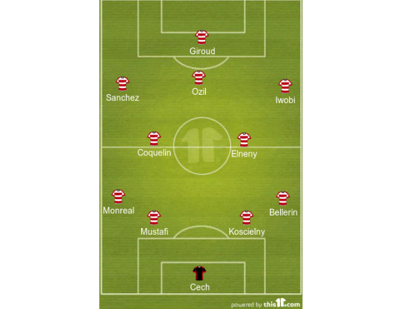 Arsenal formation