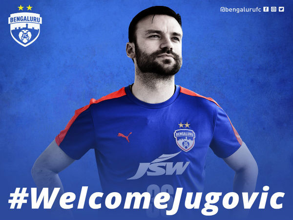 Marjan Jugovic (Image courtesy: Bengaluru FC Twitter handle)
