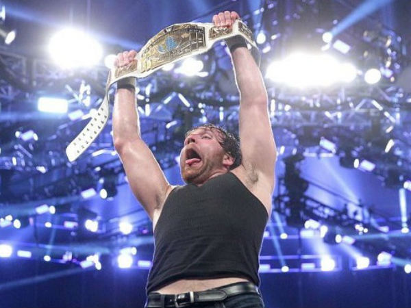 Dean Ambrose, the current Intercontinental champion (image courtesy WWE.com)