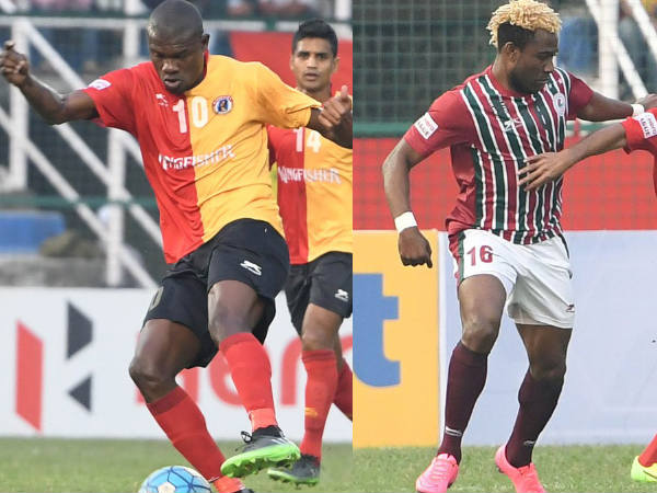 From left: Wedson Anselme and Sony Norde (Images courtesy: Mohun Bagan Twitter handle)
