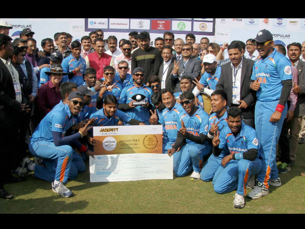 PM Modi, cricketers hail India's blind cricket team for T20 WC triumph