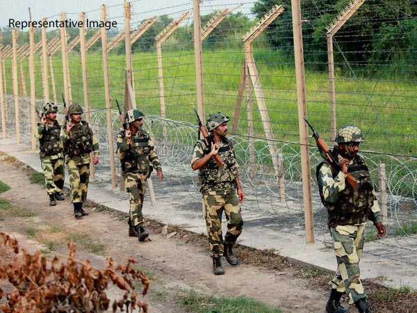 File photo of Indian troops along the border
