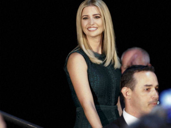 US President Donald Trump's daughter and adviser Ivanka Trump